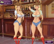 MNFClub gameplay with nude 3D girls