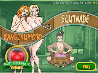 Meet N Fuck Android APK game Rangikumoto vs Slutnade