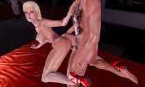 3D porno game gameplay 3D SexVilla 2