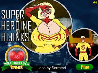 Meet and Fuck APK game Super Heroine Hijinks
