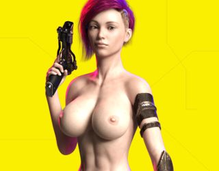 CyberSlut2069 porn game with cuber sluts of 2069