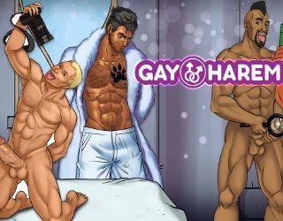Interact with Gay Harem's gay sluts